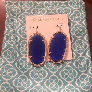 Kendra Scott Jewelry - Kendra Scott Danielle Earrings blue gold